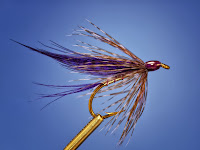 purple turtle classic wet fly pattern ray bergman