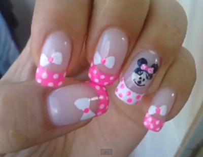 Unhas da Minnie