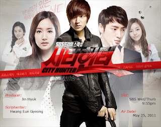 Foto Pemain City Hunter Korean Drama