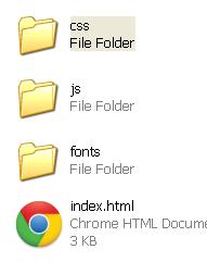 bootstrap-folder-structure