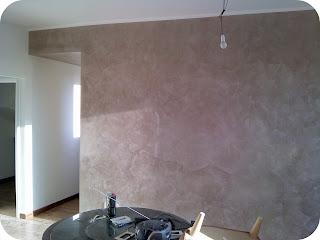 I colori di casa stucco veneziano for Pittura spugnato