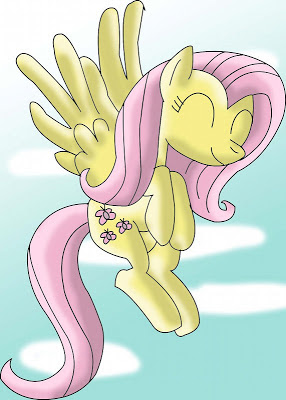 Fluttershy Happy by Mast88 (CC by 3.0)