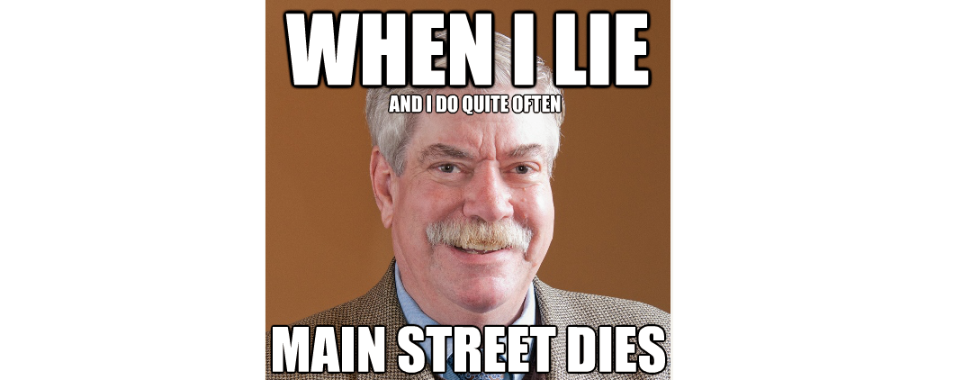 When Curran Lies, Main Street Dies
