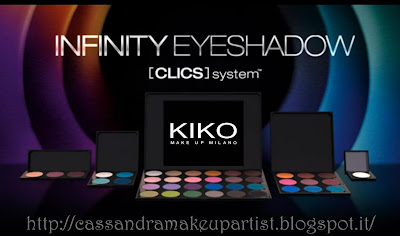 IKO - Infinity Eyeshadow + sparkle Palette Personalizzabili - prezzi - recensione - review - clics system - price - depottare