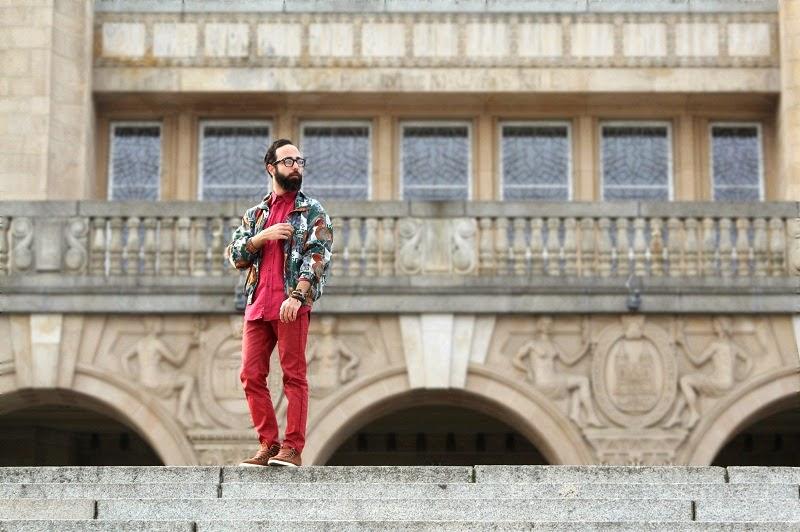 wały chrobrego karmin karminowy nabil unity jedwab bomberka moda fashion szczecin broda