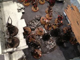Hobbit SBG - Aragorn and Arnor beat Morannon orcs