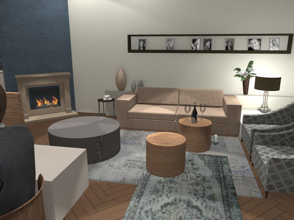 Arnoud herberts interieurarchitect: ontwerp woonkamer te naarden..