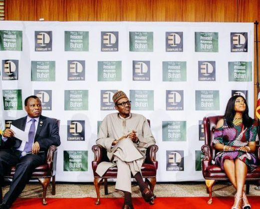 Buhari meets Young Nigerians in Washington D.C(Photos)