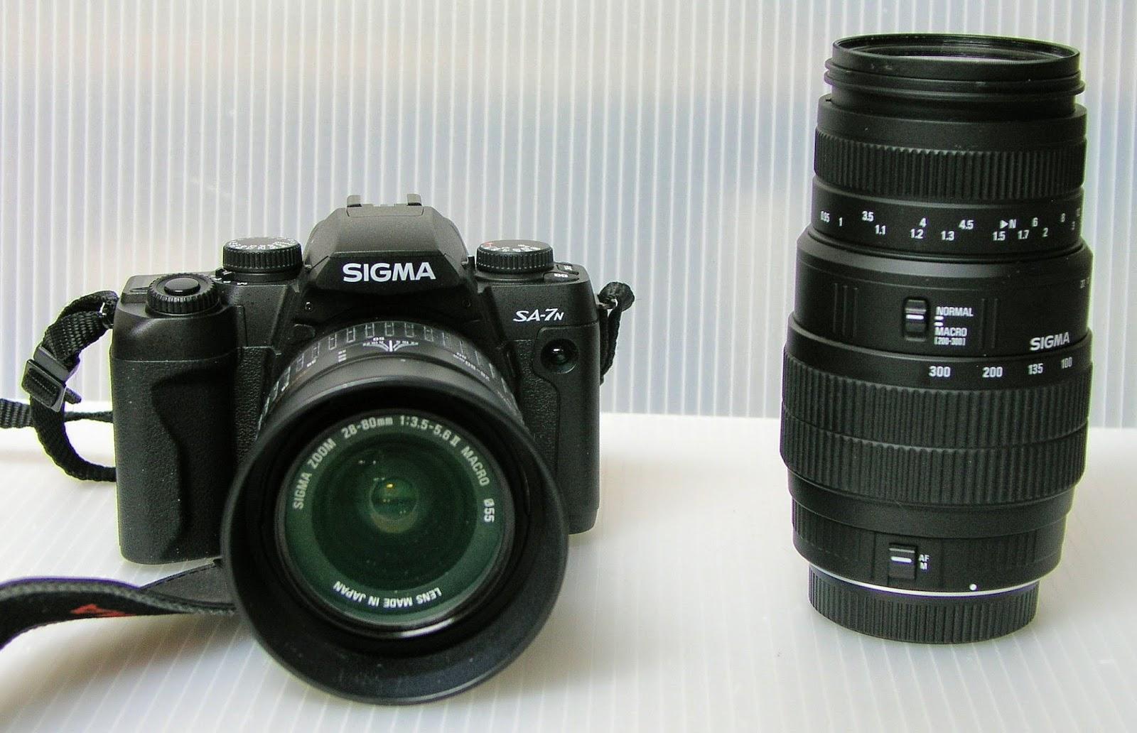 Random Camera Blog: The Sigma SA-7 - A cleanly designed ...