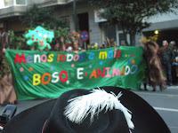 Carnaval - Entroido Vigo 2012 - Menos lobos e máis bosque animado