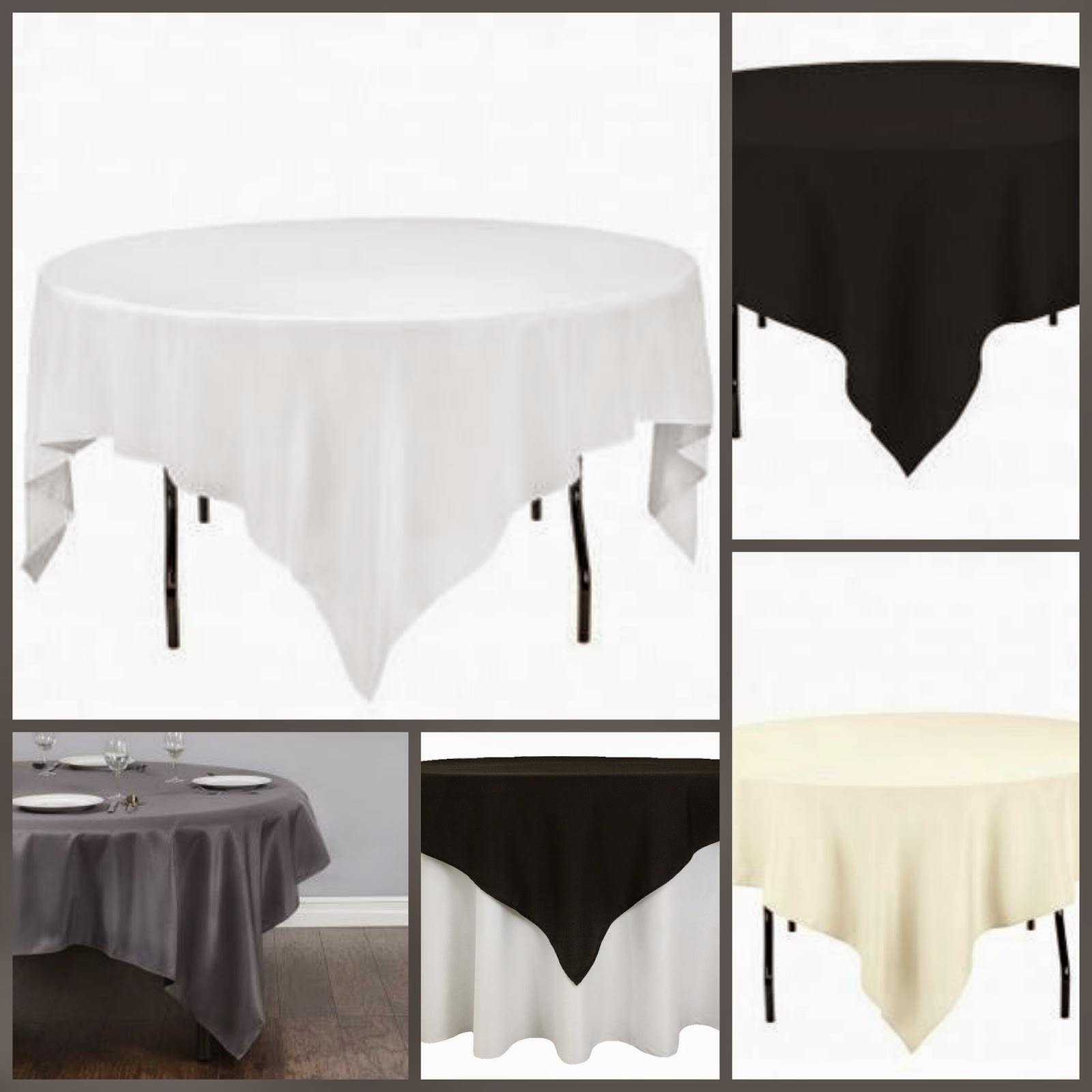 Standard polyester table linens for Table linens