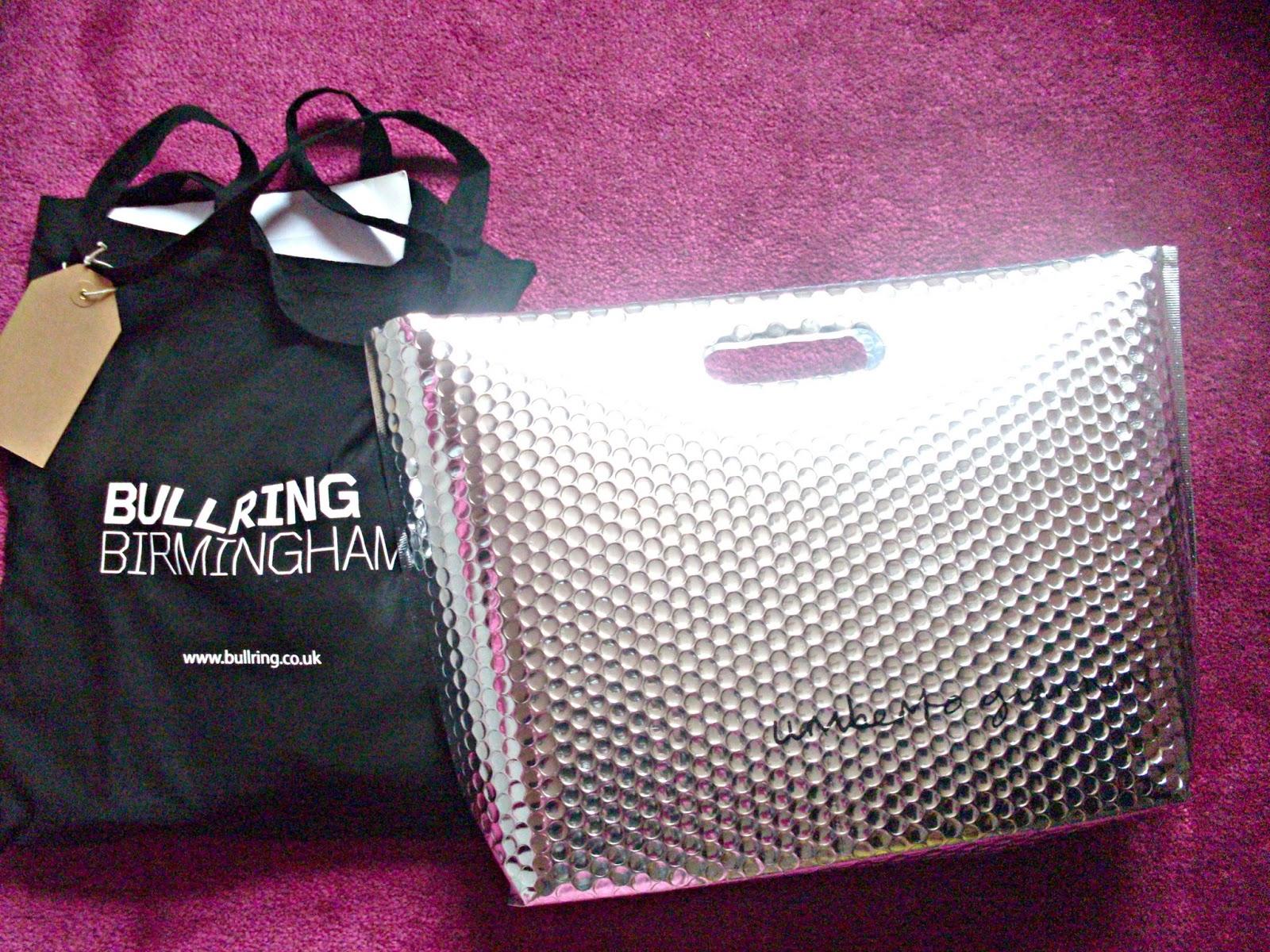 Bullring Bloggers Goody Bags