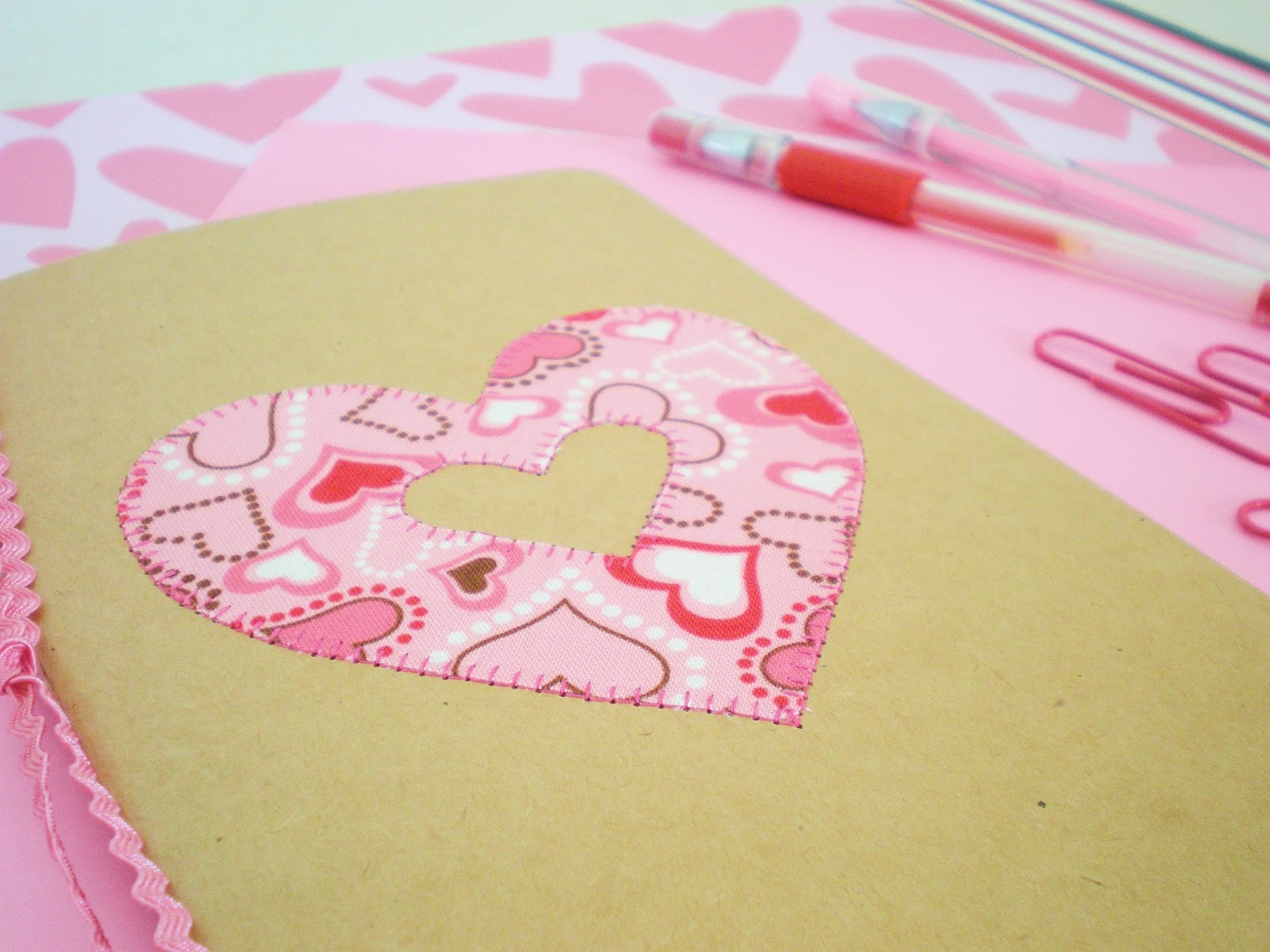Teen Craft: Monogrammed Notebooks | A Spoonful of Sugar