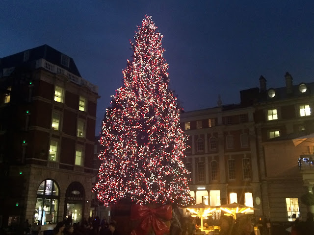 Covent Garden Christmas Tree 2015