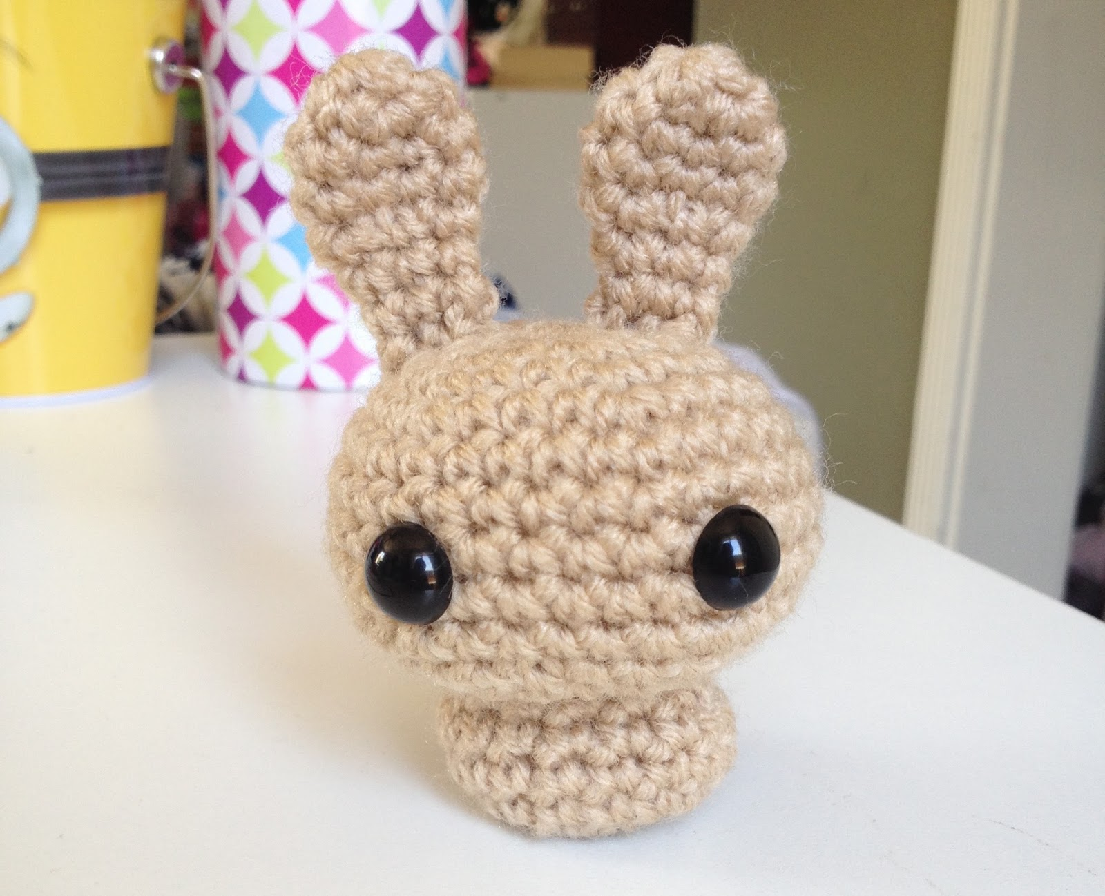Nerdy and Crafty: Simple Bunny Crochet Pattern