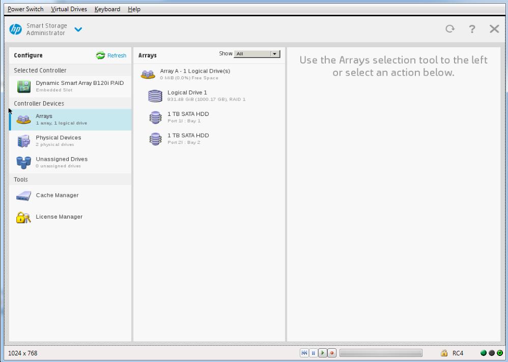 UserAbuser: Installing Centos 7 on HP Proliant Microserver Gen 8
