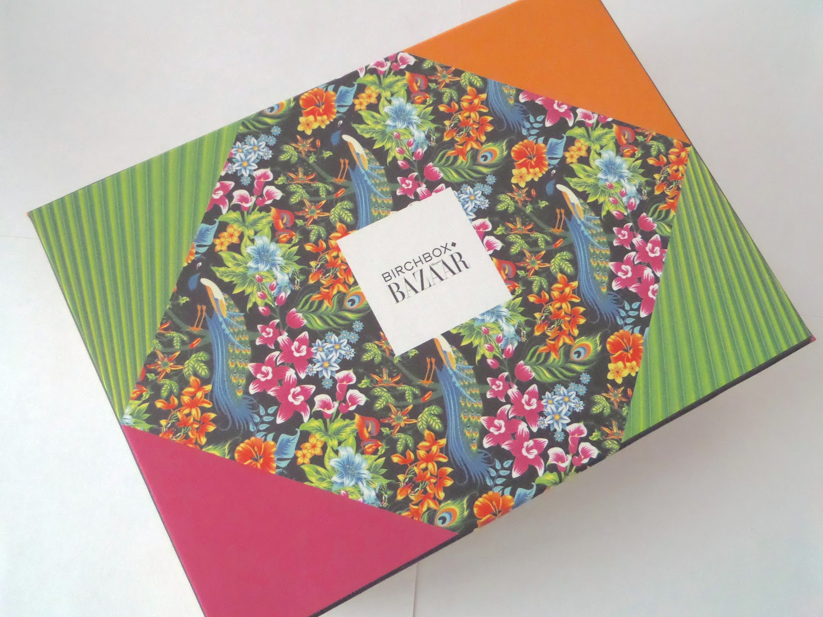 Birchbox May 2014 in collaboration with Harper's Bazaar