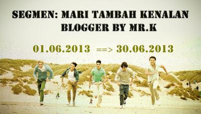 segmen, tambah followers blog, tambah PV blog, blogger baru, blogger otai