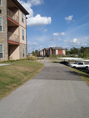 Tsa La Gi Trail, Hill Place Apartments, Fayetteville