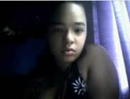 Aline Caiu Se Mostrando Na Webcam