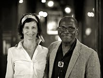 ESTHER CIDONCHA JUNTO A GEORGE CABLES EN NEW YORK