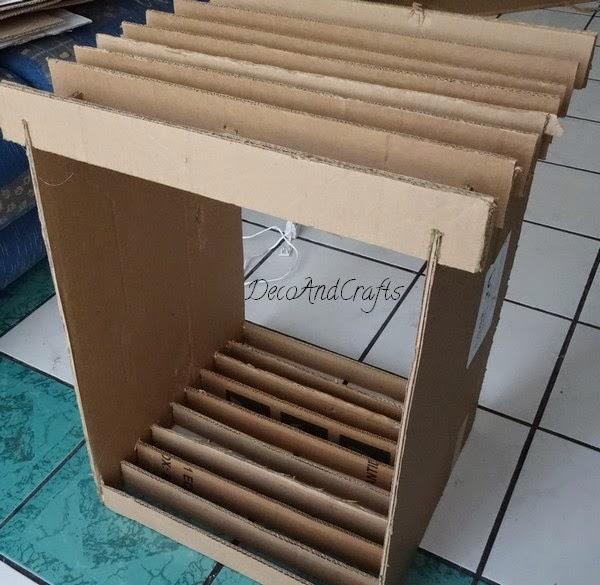 Mueble de carton tama o real bur - Imagenes de muebles de carton ...