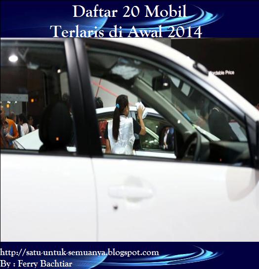 Mobil terlaris 2014