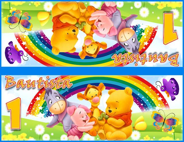 www.todoimprimibles.com: Kit Imprimible Winnie Pooh Babys y amigos