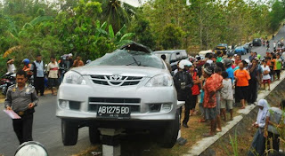 Artis Dangdut Dewi Angin-Angin Tewas Kecelakaan Di Yogyakarta