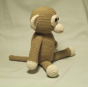Amigurumi Tutorial Mono : bigunki, amigurumis y ganchillo: Mono amigurumi