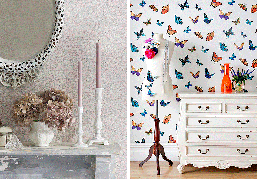 Marzo 2015 meu canto blog - Papeles pintados para salones ...