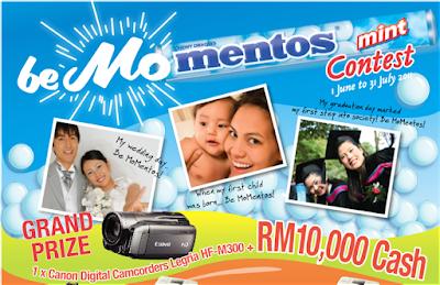 Mentos 'Be MoMentos' Contest