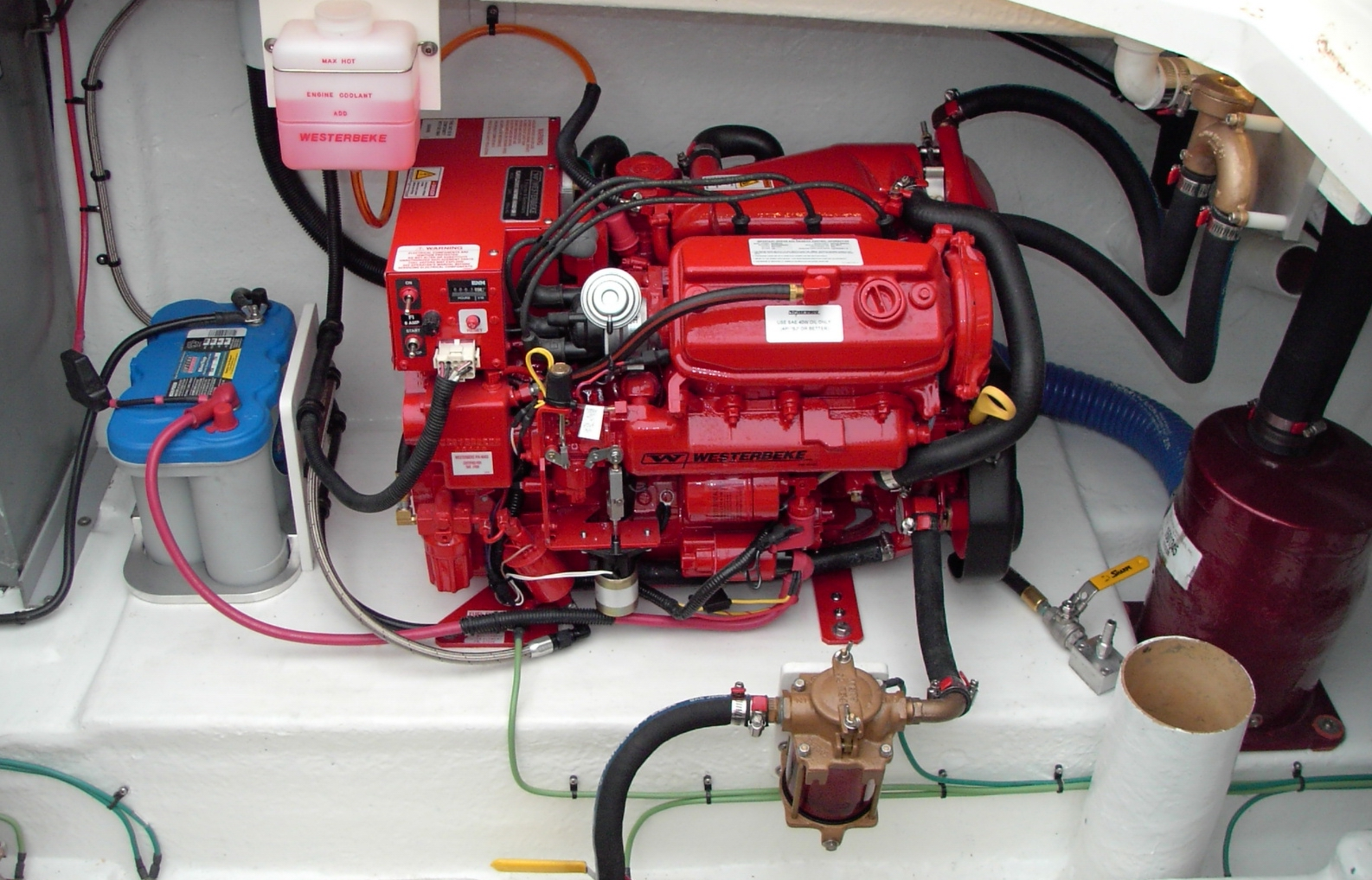 PDR_1938 sea ray 340 sundancer restoration april 2011 westerbeke generator wiring diagram at alyssarenee.co