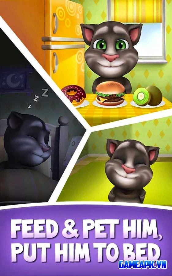 My Talking Tom v1.7.3 Mod (Unlimited Coins) cho Android