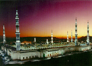 Beautiful Masjid-e-Nabvi Pictures Gallery7