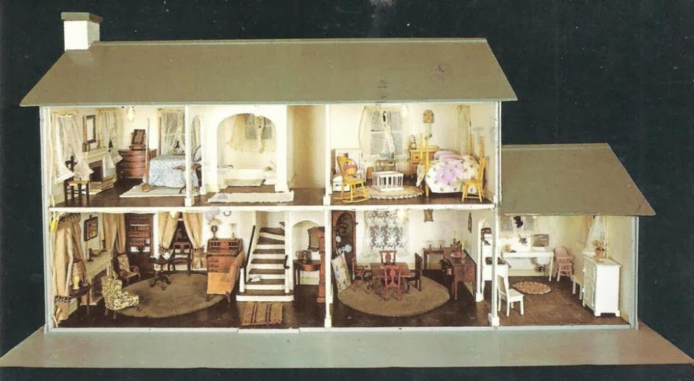 My Vintage Dollhouses A Quot Picture Perfect Quot Post Card