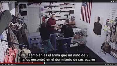 compra arma asesinato