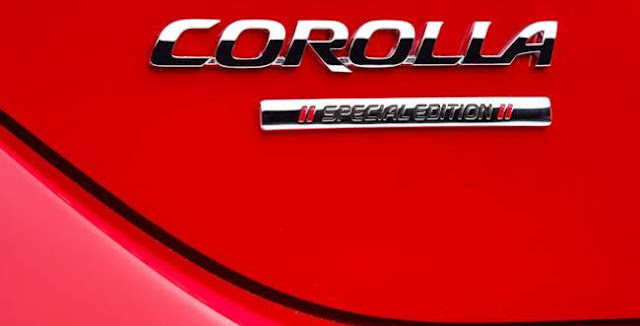 2016 Toyota Corolla Special Edition Review