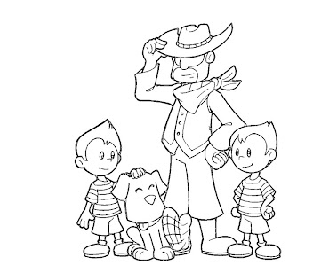 #10 Lucas Coloring Page