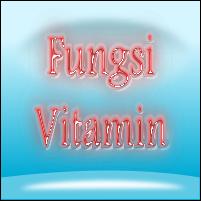 Fungsi vitamin untuk kesehatan tubuh