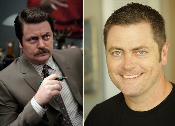 Nick Offerman without moustache