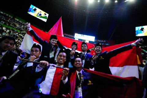 Tim World Skills Competition Indonesia Meraih Prestasi Membanggakan dalam Ajang World Skills Competition di Brazil