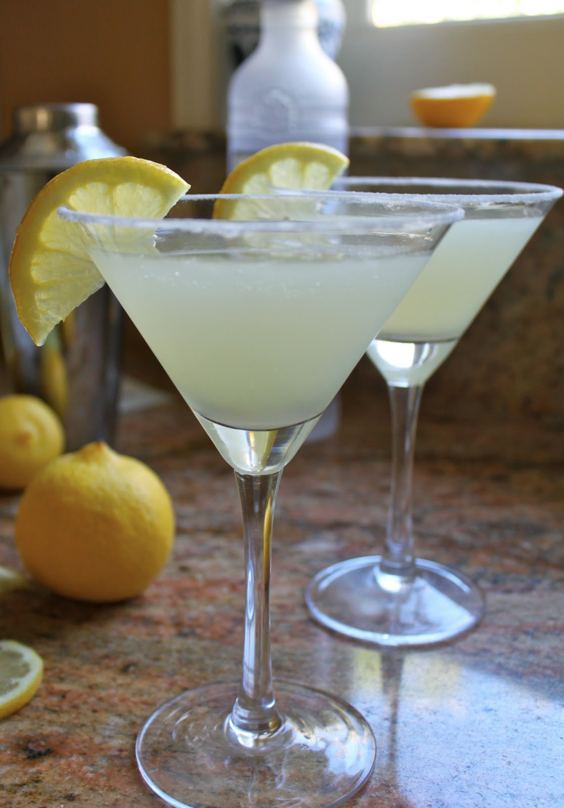 The Best Lemon Drop Martini You'll Ever Have…