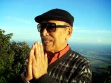 Veteran actor & director Bonny Pradhan in Kurseong