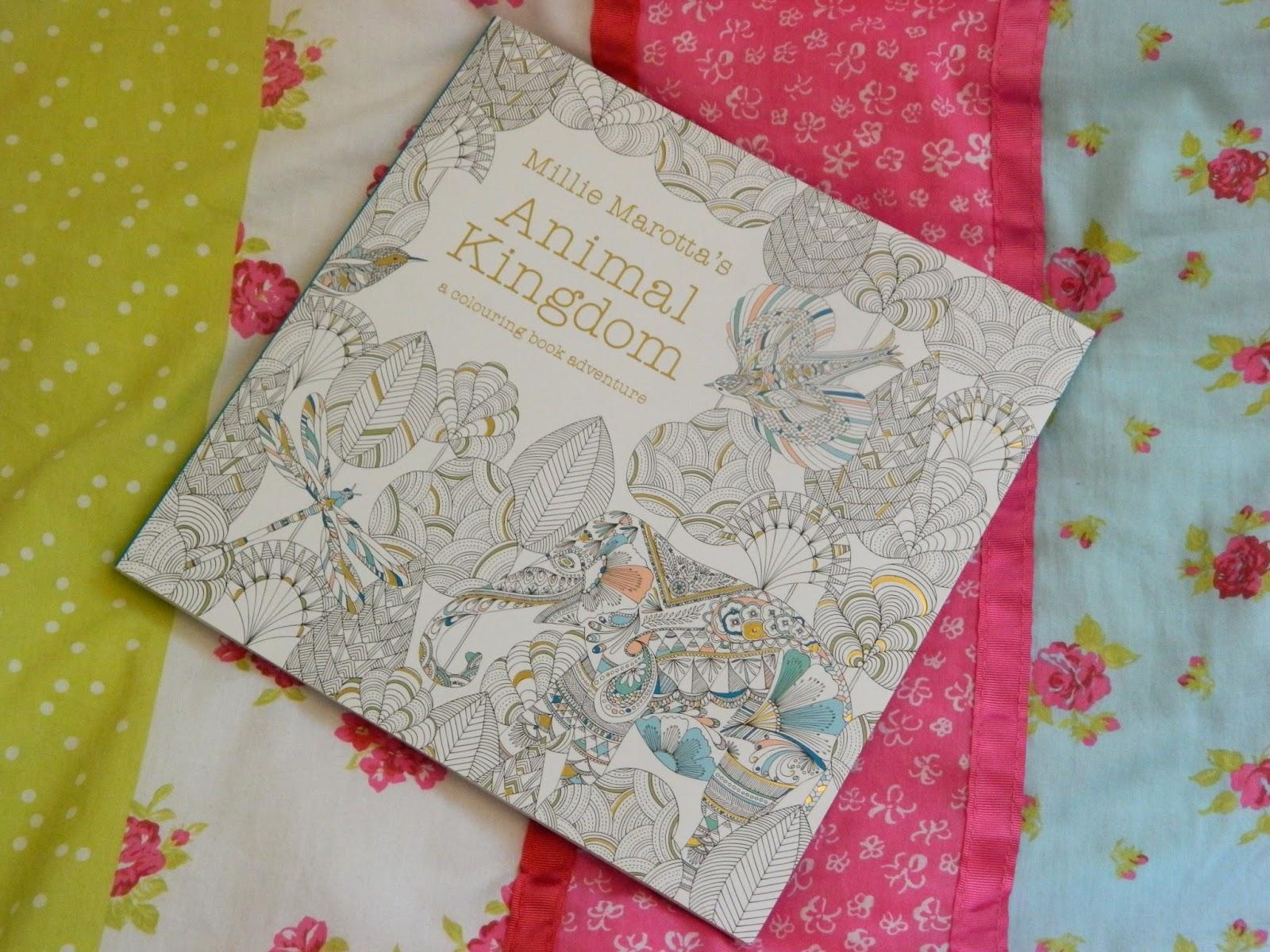 Animal Kingdom By Millie Marotta Adult Colouring Books