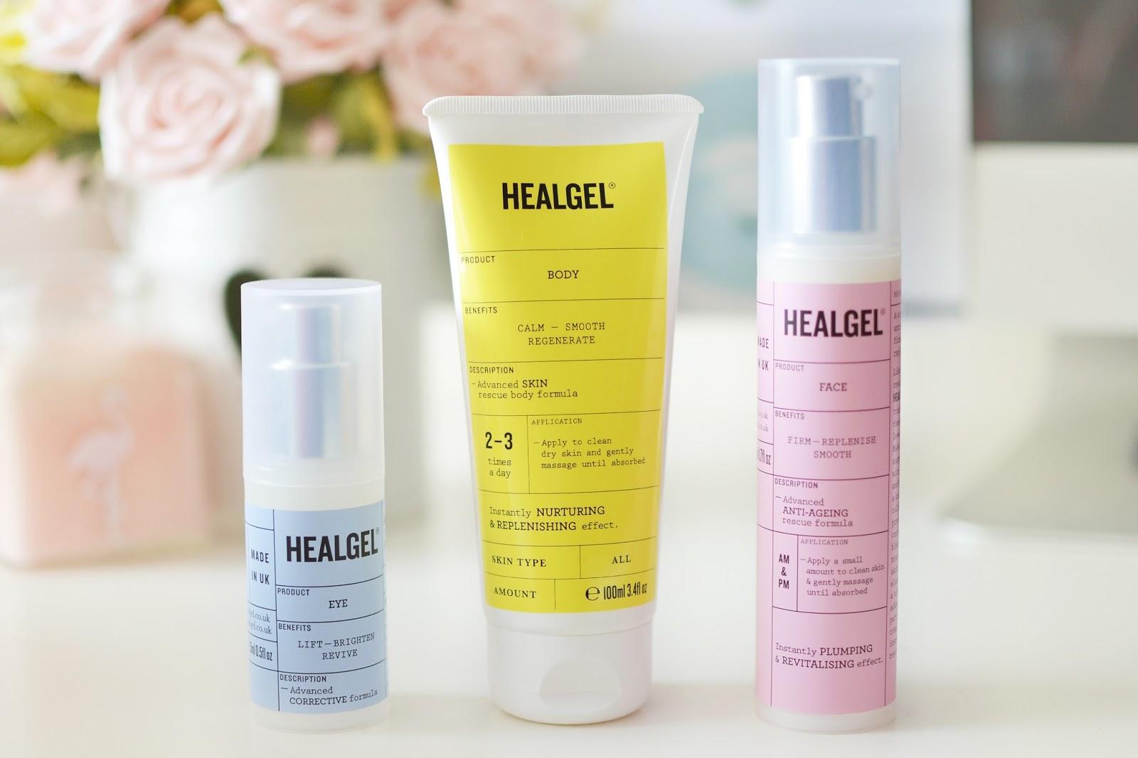 HealGel Body, bodycare for dry skin, products for dry skin, healgel