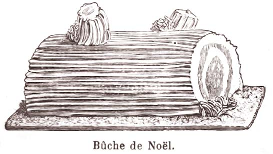 sweetspot: The Origin of the Bûche de Noël