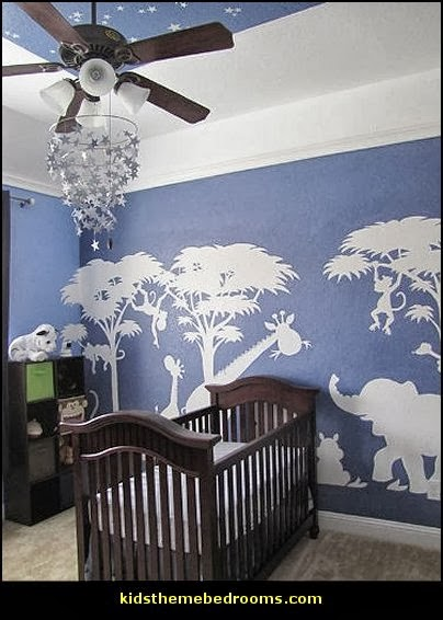 Decorating theme bedrooms maries manor jungle baby for Cheetah themed bedroom ideas