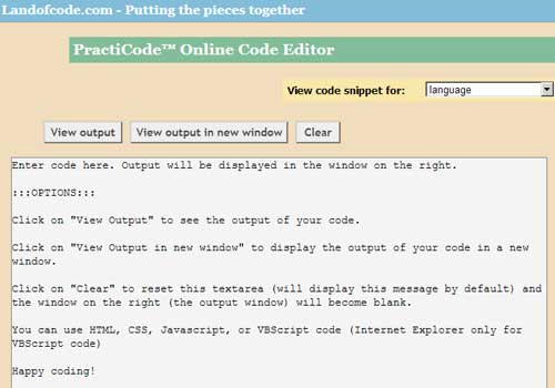 20 Online Code Editors that make developers life easy