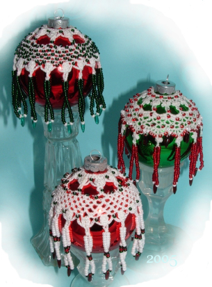Free beaded christmas ornaments patterns quotes lol rofl com